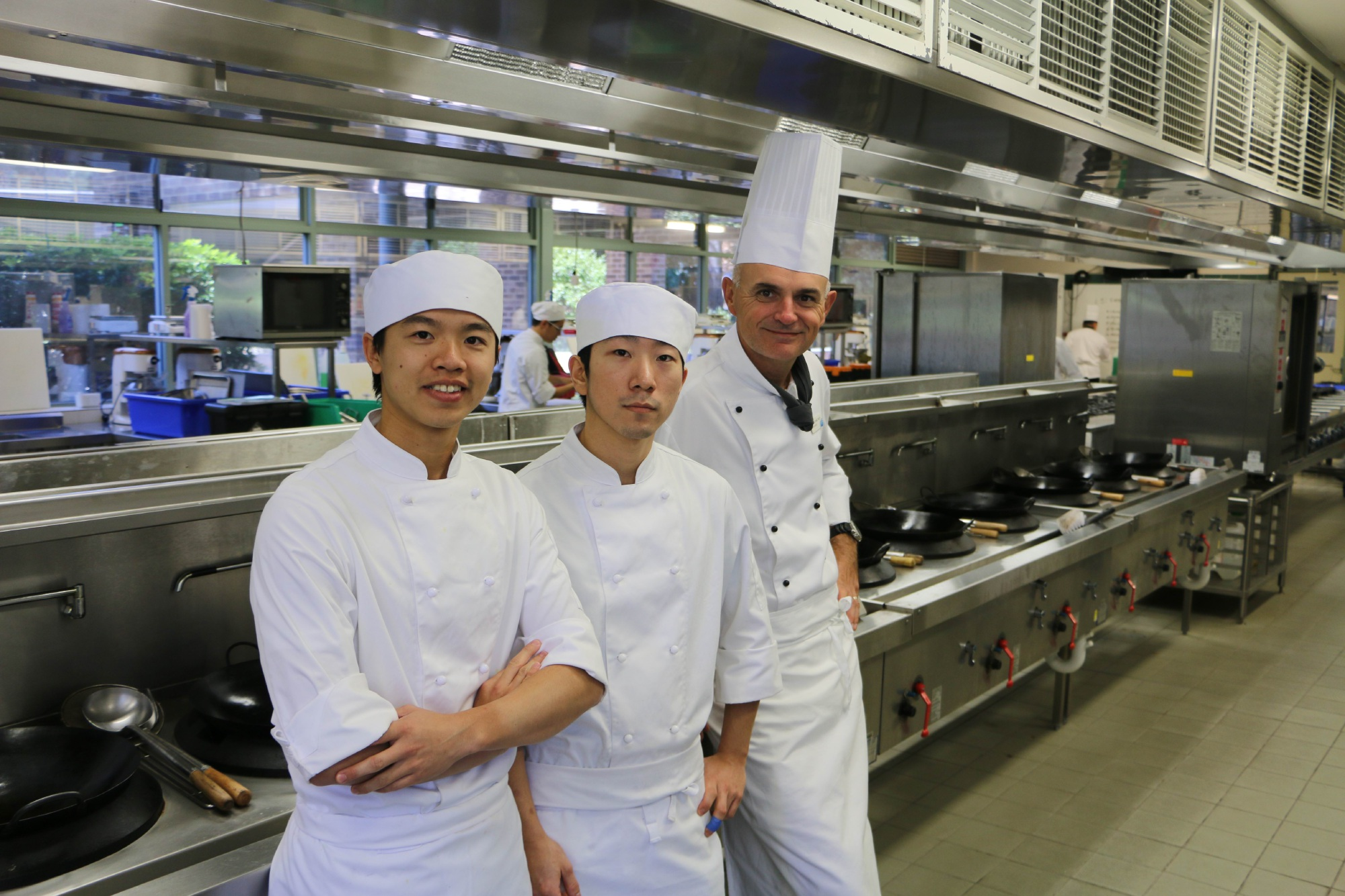 Josh Chen, Max Kim and Denis Boulet are preparing to take their skills to the international stage.