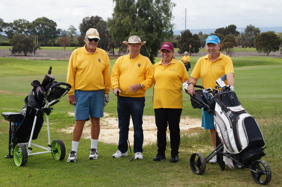 Melville Golf Centre hosts Westerners Blind Golf Club while its home course is upgraded