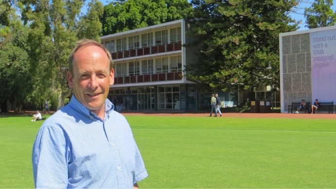 UWA's Barry Lehane helping shift to renewable energy in Europe