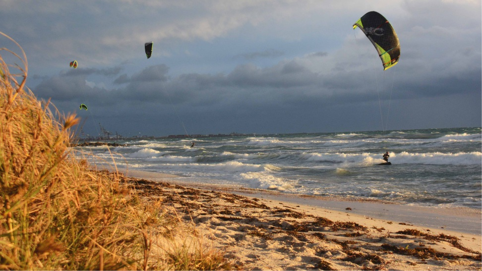 Kitesurfing and windsurfing could only be allowed at Dutch Inn, Cottesloe. Picture: Jon Bassett.