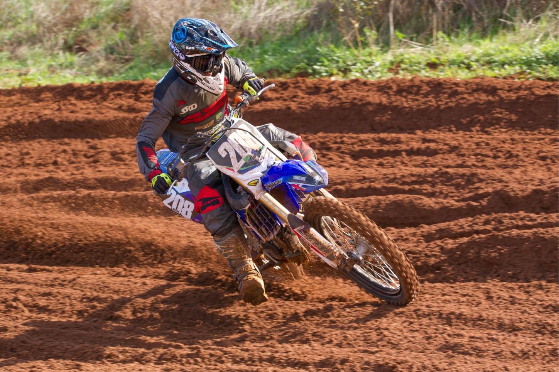 Josh Adams won the MX2 class. Picture: True Spirit Photos