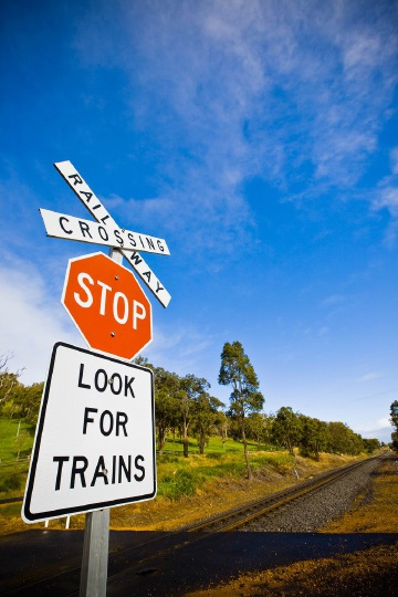 On Brookfield Rail's network alone, there are about 70 incidents at level crossings each year.