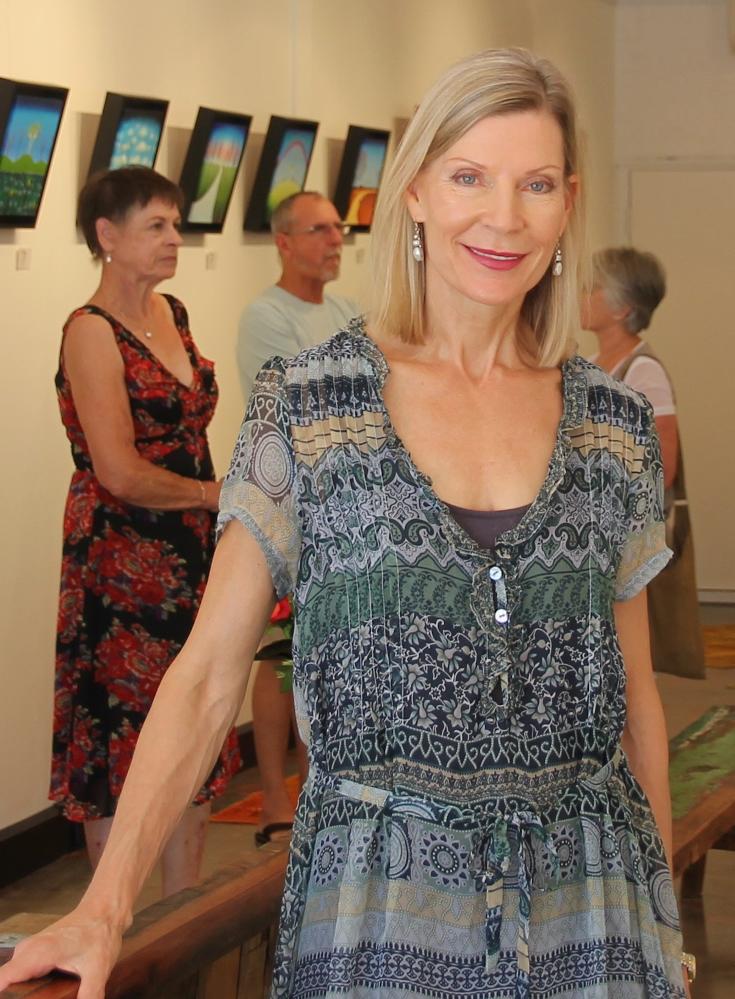 Artist Bonnie Atlan