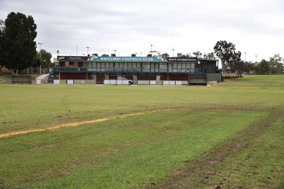 Kingsway Regional Sporting Complex. Sporting clubs and amenities will be upgraded thanks to State Government funding. Picture: Martin Kennealey