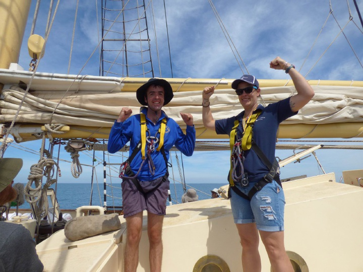 Have a heap of fun on the Leeuwin's 2016 Ultimate Challenge.