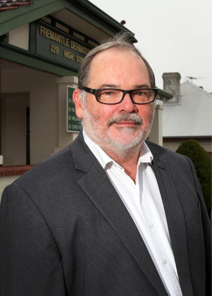 Fremantle dermatologist Hannes Gebauer awarded Medal of the Order of Australia