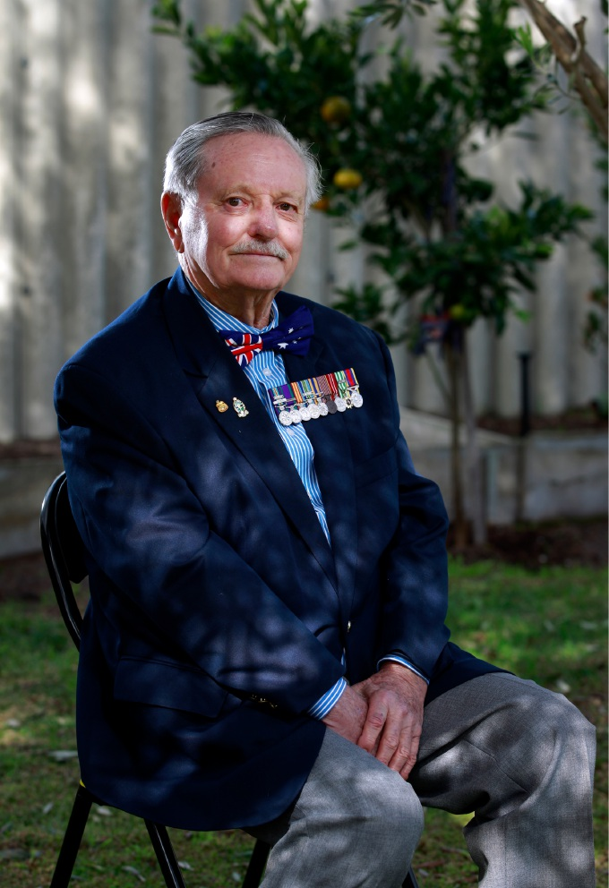 Old soldier Bert Lane awarded Medal of the Order of Australia for service in armed forces and community