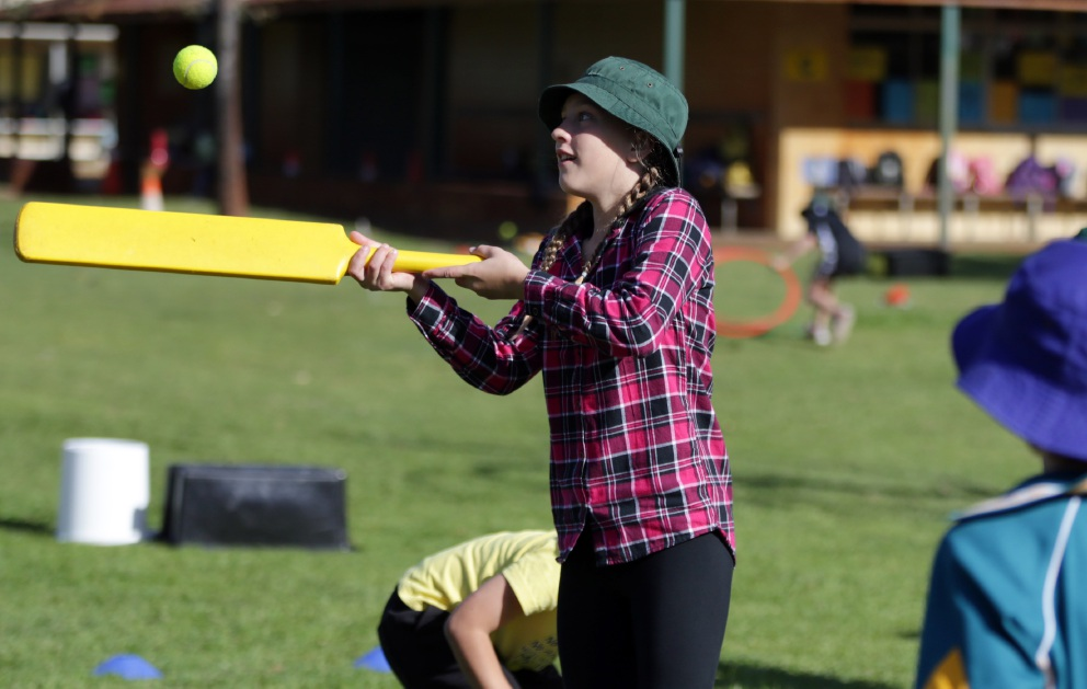 Joondalup Primary School students play in the name of WA