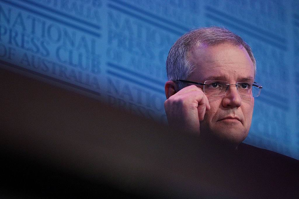 Scott Morrison. Picture: Stefan Postles/Getty Images