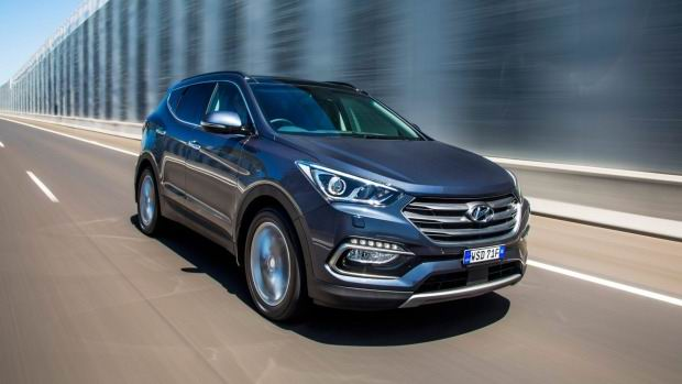 Hyundai Santa Fe: Better behave for Santa