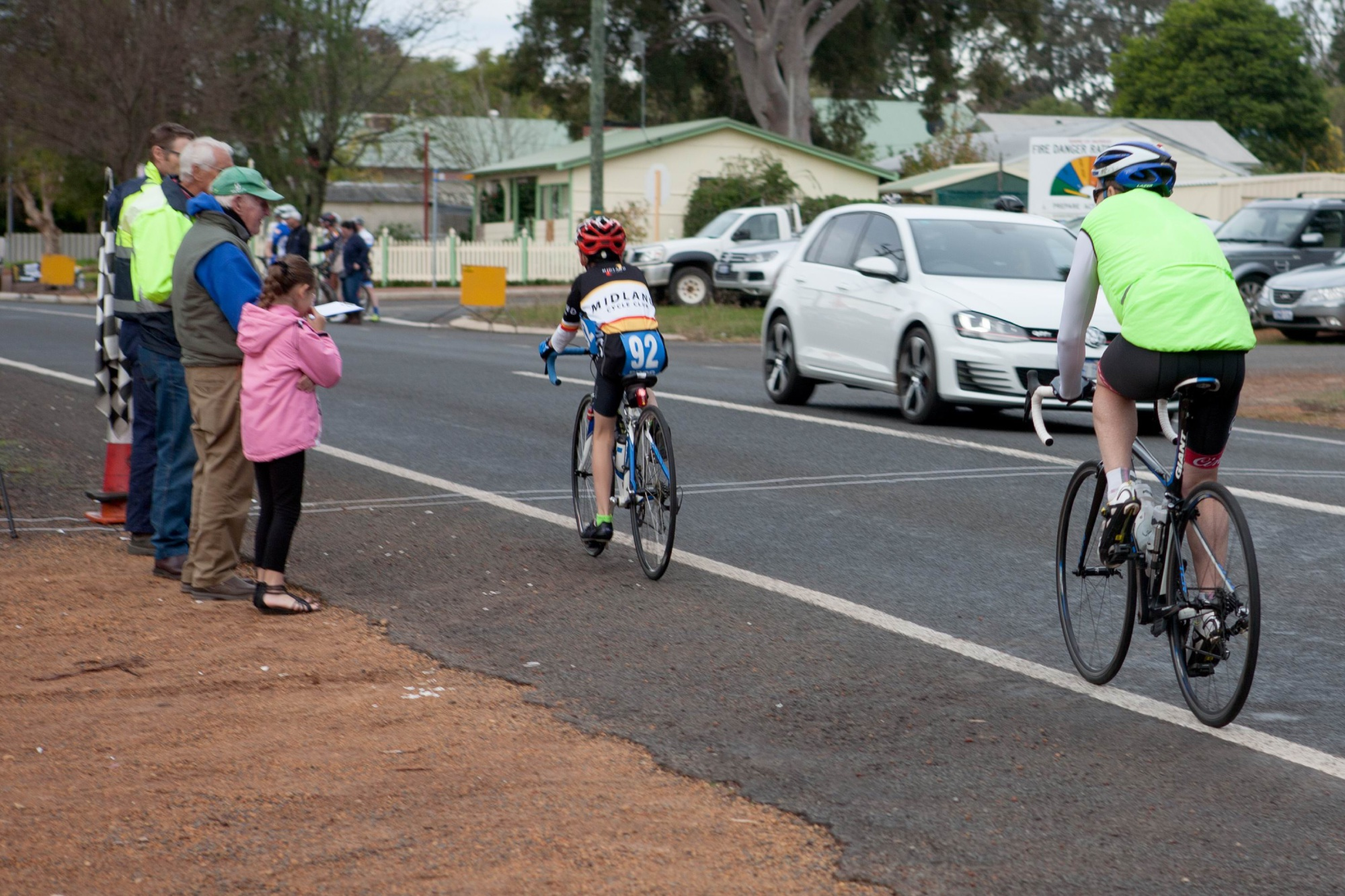 Peel District Cycling Club's Dwellingup Handicap full of surprises