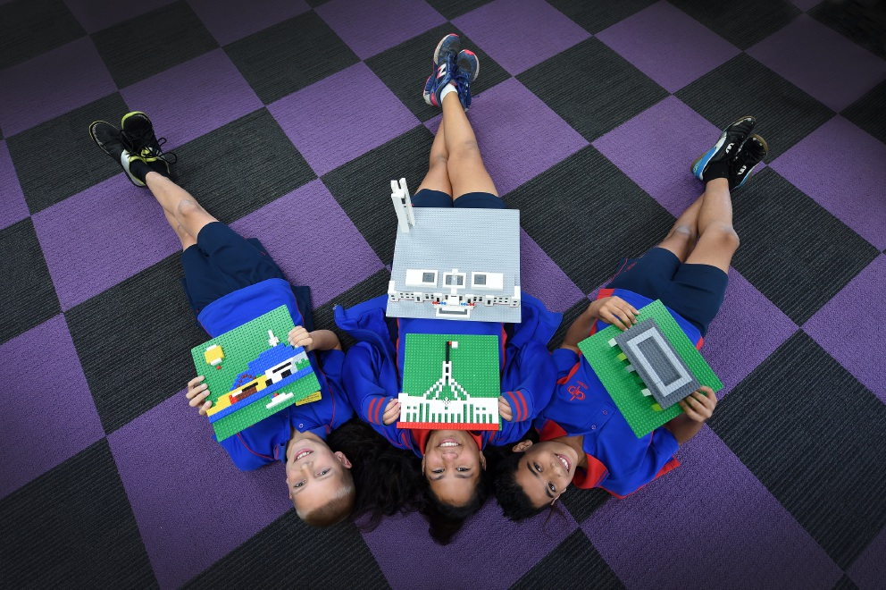 A touring Lego exhibition has opened in Mandurah