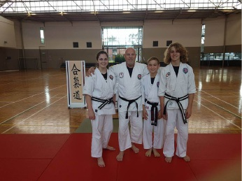 Aikido demonstration: Wangara students chosen to give performance