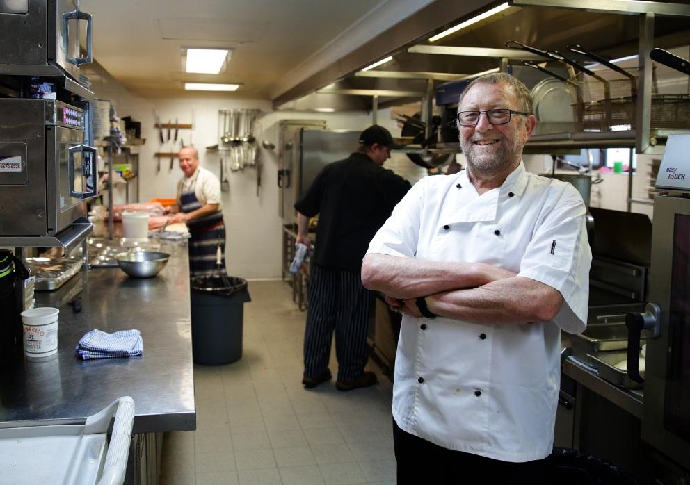 Marmion Angling and Aquatic Club chef's award a birthday treat