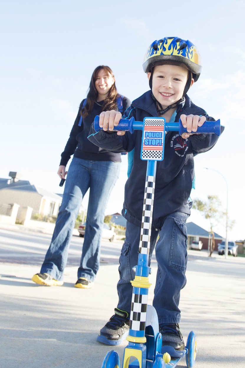 Mum Bree Bloch says Jack (5) is doing really well after going through the NDIS's  program in the Perth Hills.