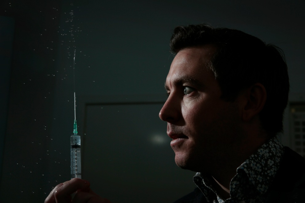 UWA researcher aspires to put a pin in people's fears about needles