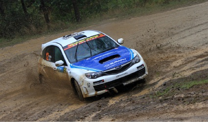 Rain plays havoc with drivers leading to early finish for Brad Markovic in International Rally of Qld