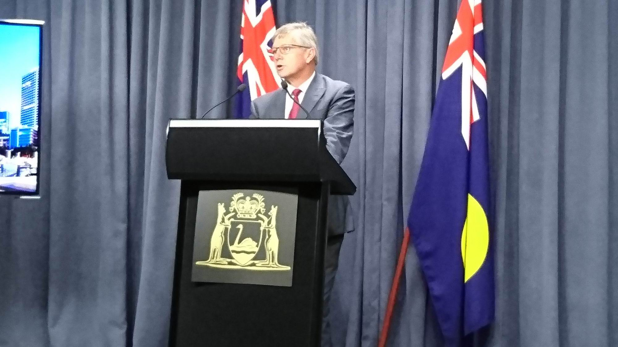 Transport Minister Bill Marmion,
