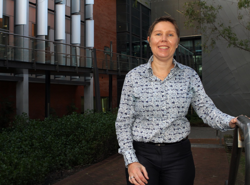 As a Curtin University researcher, Belinda Evans was interested in participating in the trial.