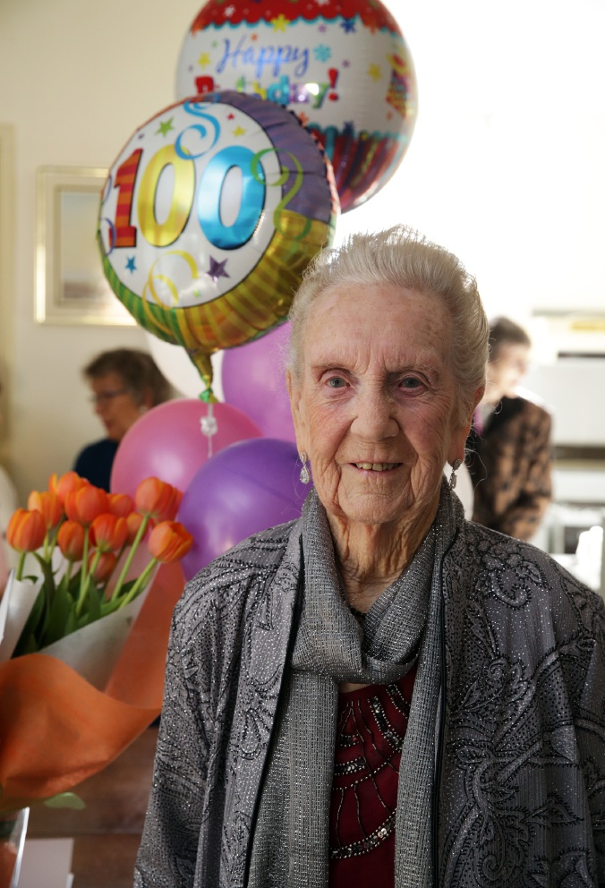 The secret to a long life: happiness the key, says Warwick centenarian