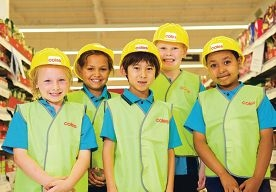 Neerabup Primary School students learn about contruction