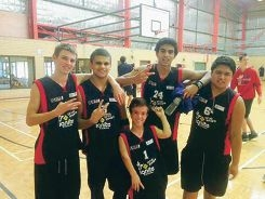 Sport ignites big ambitions for Michael Salisbury, Kenny Griggs, Blake Massey, Moses Chandran and Jahvais Clarke.