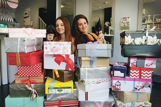 Catherine Salerno and Jessica Blann-Godwin are taking part in the LipBox Project.
