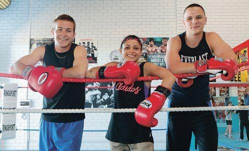 Knockouts: Michael Martino, Lulu Hawton and Brandon Rees.