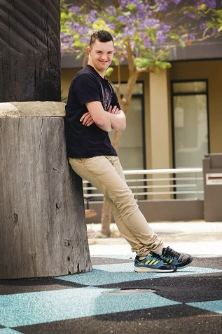 Jack McKevitt has Down syndrome and is keen to become a model.