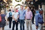 Triplify app founders Damien Hatton, Matt Fontana and John Daniels.