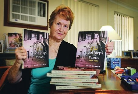 Betty Crombie of Thornlie.  Betty has just completed a book called