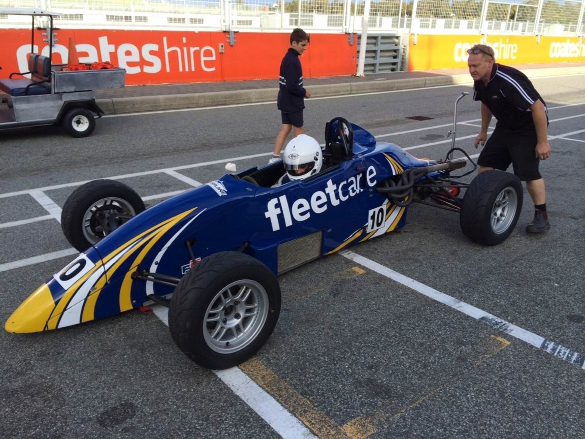 Tayla Dicker (16) hopes to encourage more girls into motorsport.