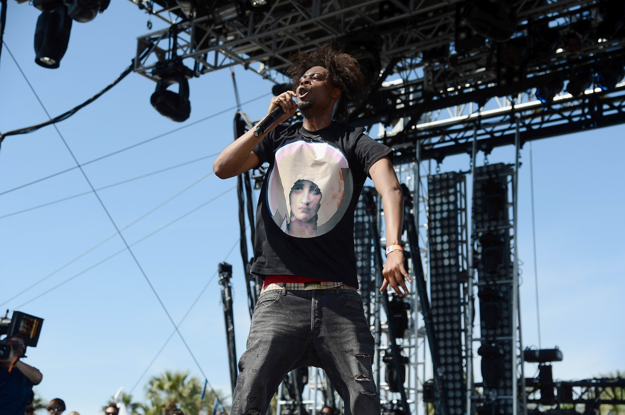 Critically-acclaimed rapper Danny Brown is among those appearing at Origin NYE, but where?