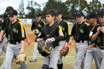 Swan Hills Little League Charter players in Lismore.