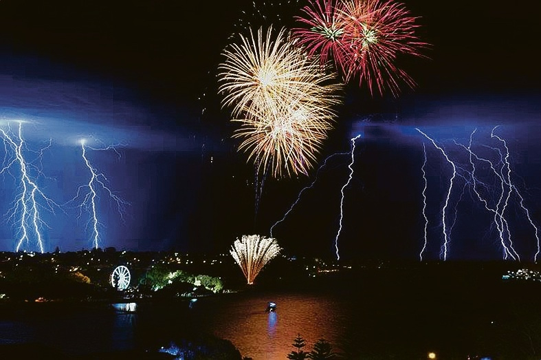 Mandurah's eastern foreshore will host fireworks and a range of other activities.