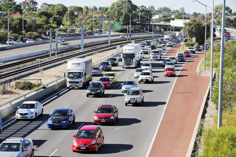 Northern residents suffer due to freeway congestion.