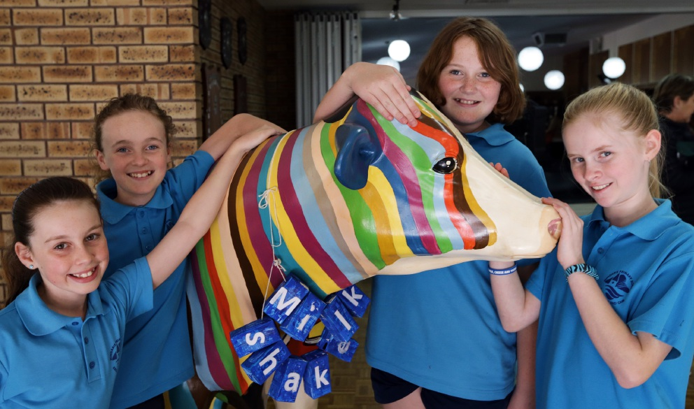 Milkshake brings awards to Mindarie Primary school yard