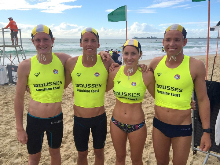 Mullaloo Surf Life Saving Club competitors.
