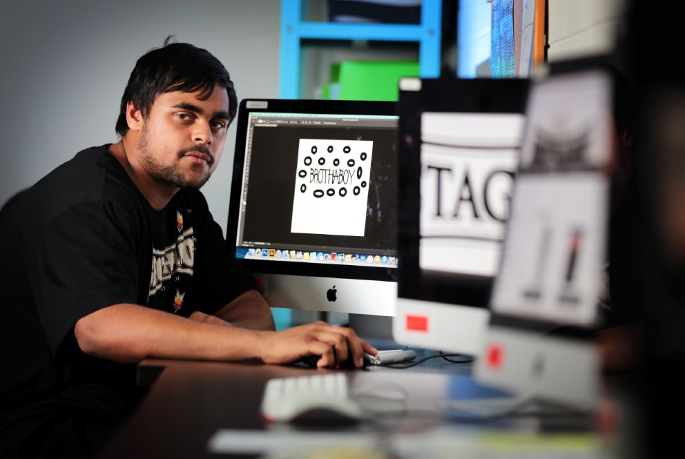 Cloverdale resident David Coyne wants to do graphic design after he finishes high school.