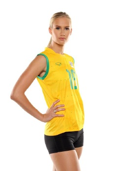 Indoor volleyball player Jen Sadler gears up to represent Australia next month.