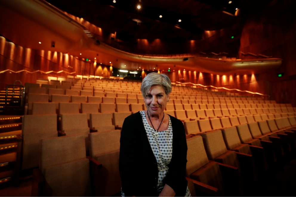Toni Scanlan in Heath Ledger Theatre. Picture: Andrew Ritchie d453136