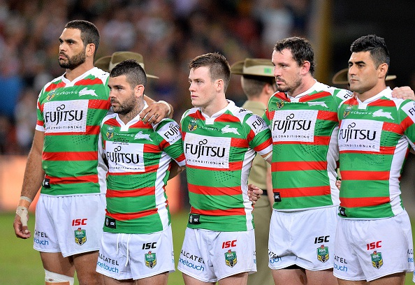 The Rabbitohs are up against Gold Coast at Perth oval this Sunday.