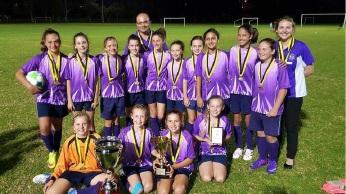 The championship-winning Aubin Grove Primary School side.