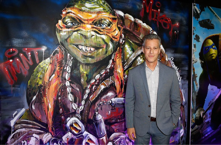 Brad Fuller at the TMNT: Out of the Shadows premiere in Sydney.