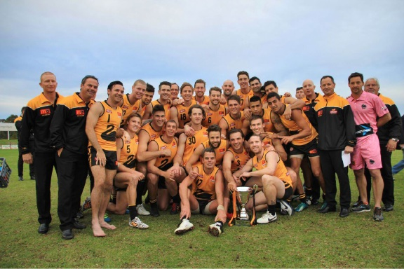 The victorious WA side on Saturday. Picture: Phil Elliott/ PixEll Photography.