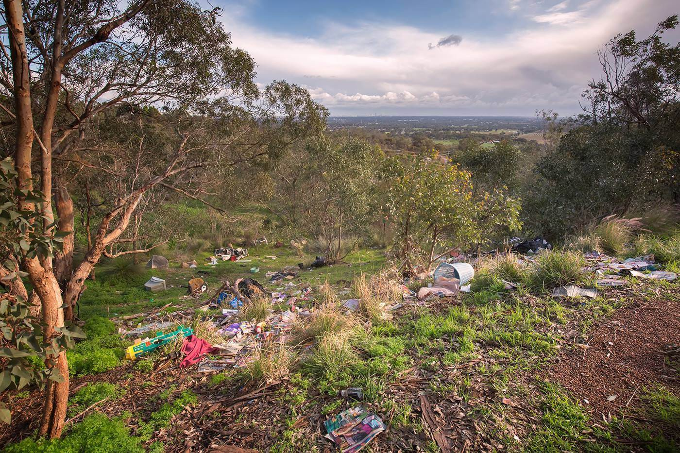 Red Hill rubbish sight a 'disgrace'