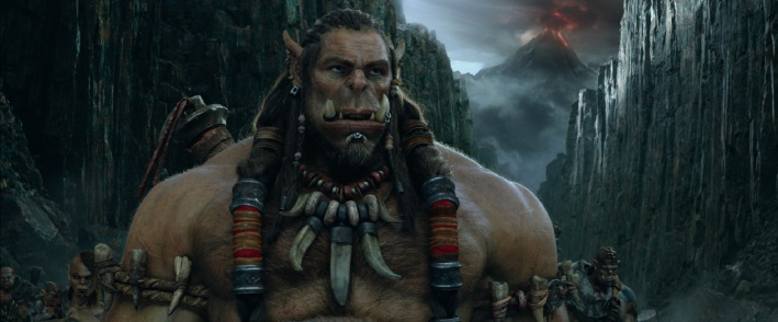 Orc Durotan in Warcraft: The Beginning.