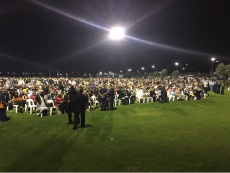 More than 3500 people attended the |Ellenbrook RSL's dawn service.