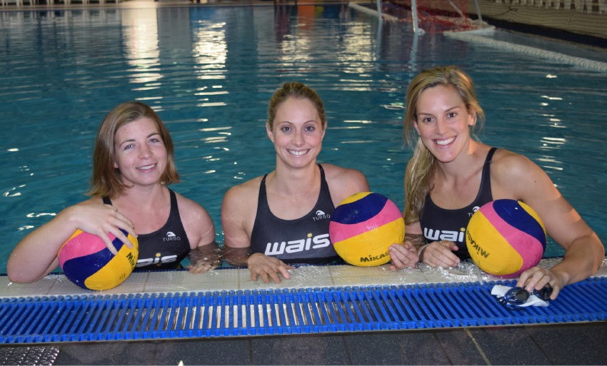 Melville Water Polo Club players Zoe Arancini, Glencora McGhie and Gemma Beadsworth will |represent Australia at the Rio Olympics.