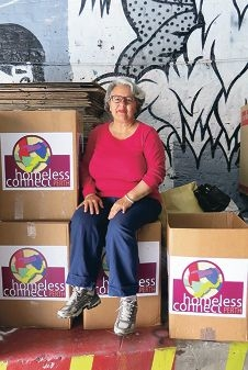 Melville resident Silvana Mulroney has given her time freely to Homeless Connect this year.